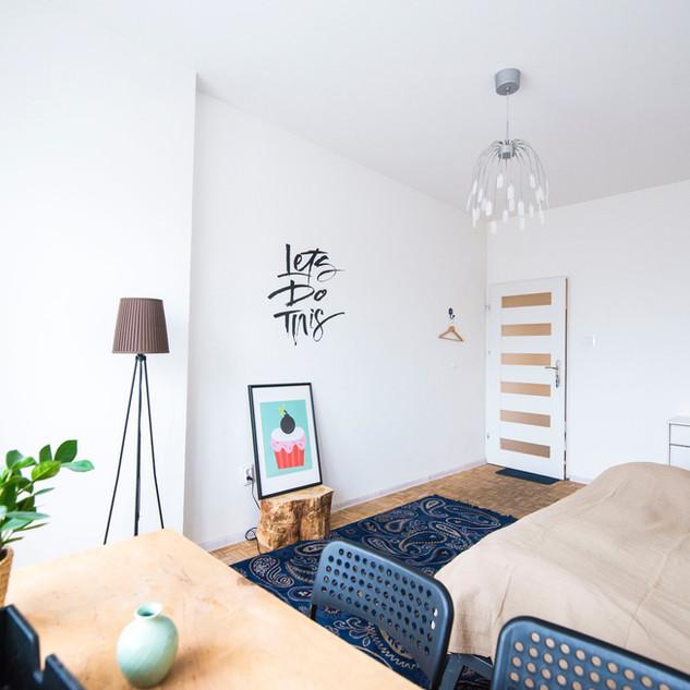 Ristrutturazione camera da letto scopo affitto