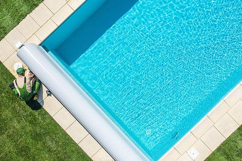 Achtertuin zwembad