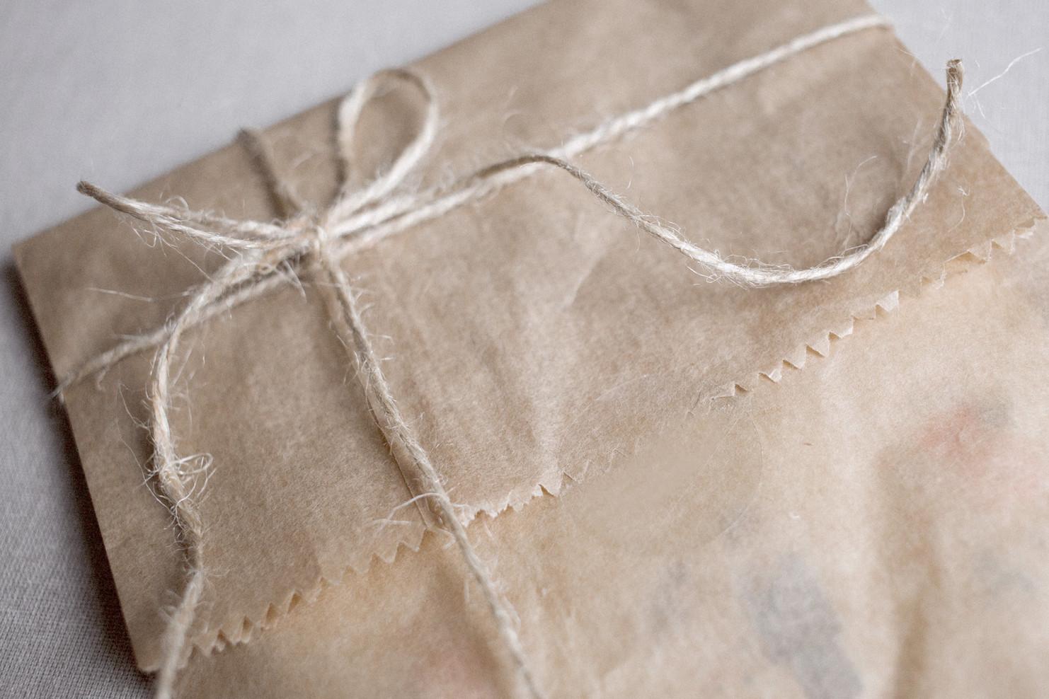 Unwrap your art kit.