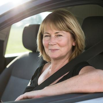 Senior Woman Driving