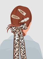 Girl with Hair Pins