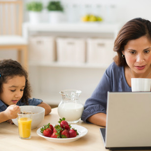 [infographic] 7 tips for working from home with kids