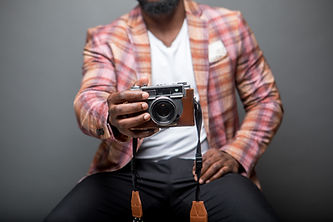 Hipster with Camera