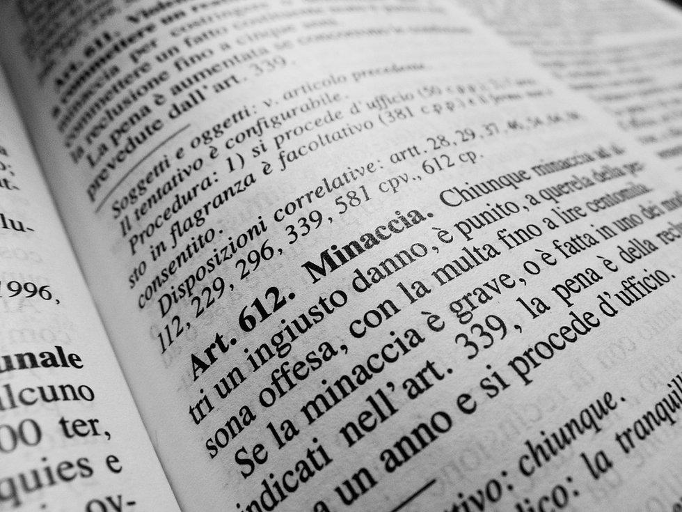 Italian Law Book
