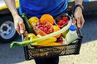 食品配達について