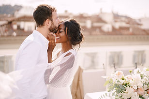 Loving Couple Vow Renewal