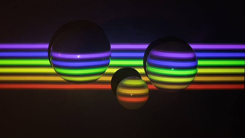 3D Balls in Pride Colors
