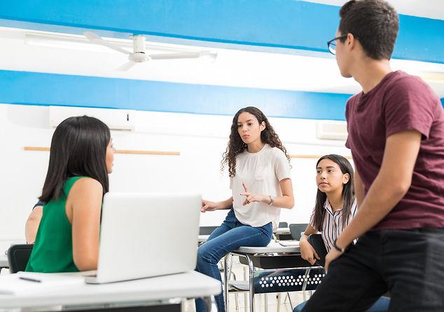 Обсуждение между студентами