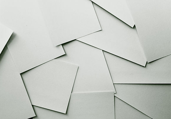 Papéis em branco