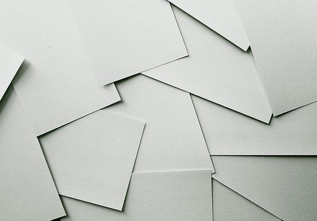 Leere Papiere
