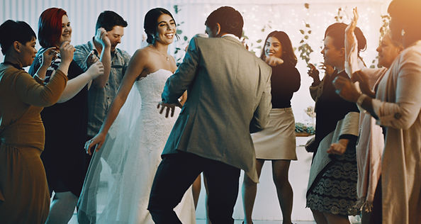 Wedding disco - icluded as standard in the wedding venue hire fee.