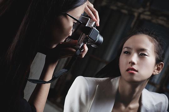 Фотосессия модели