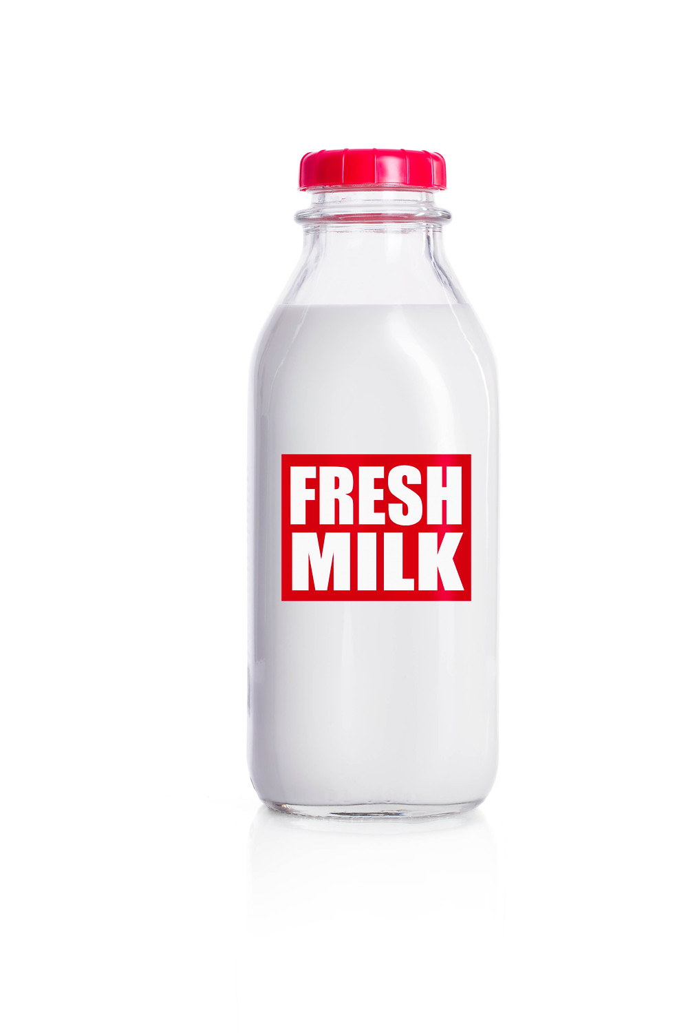 Picture of a milk bottle