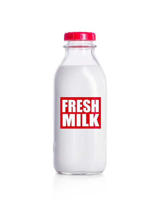 **NEW Size/ Options for ALL RAW Milk  - See Choices in Description
