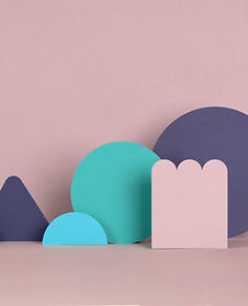 Pink Paper Structures
