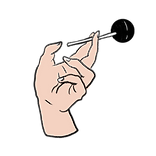 Hand Holding Lollipop