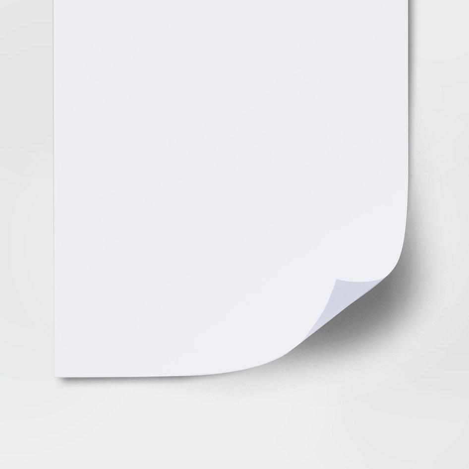 foglio bianco