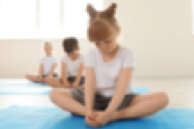 Children in Yoga Class