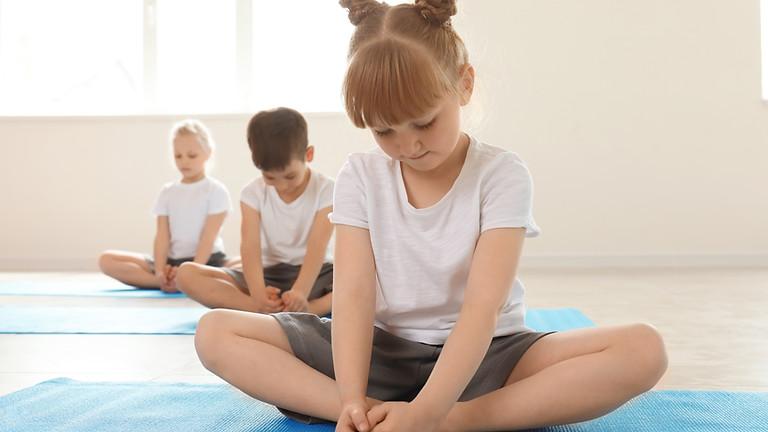 Kinder Yoga en Crea middag