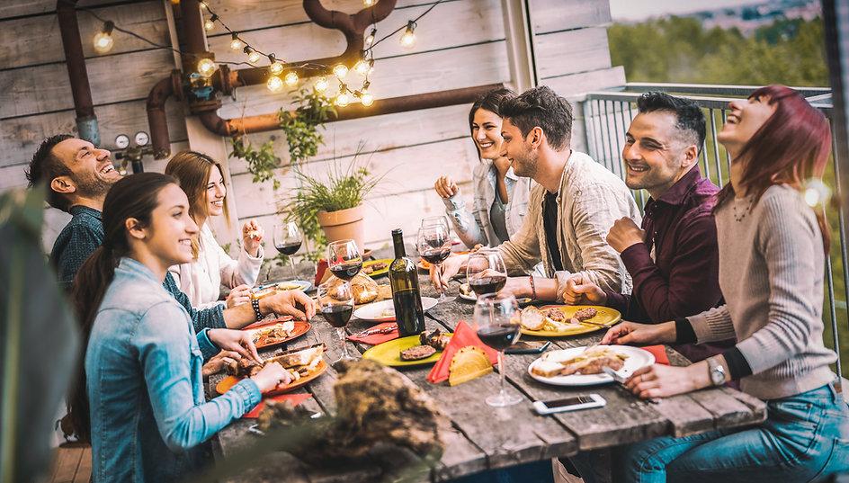 Pranzo con amici