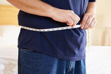 Midiendo la cintura