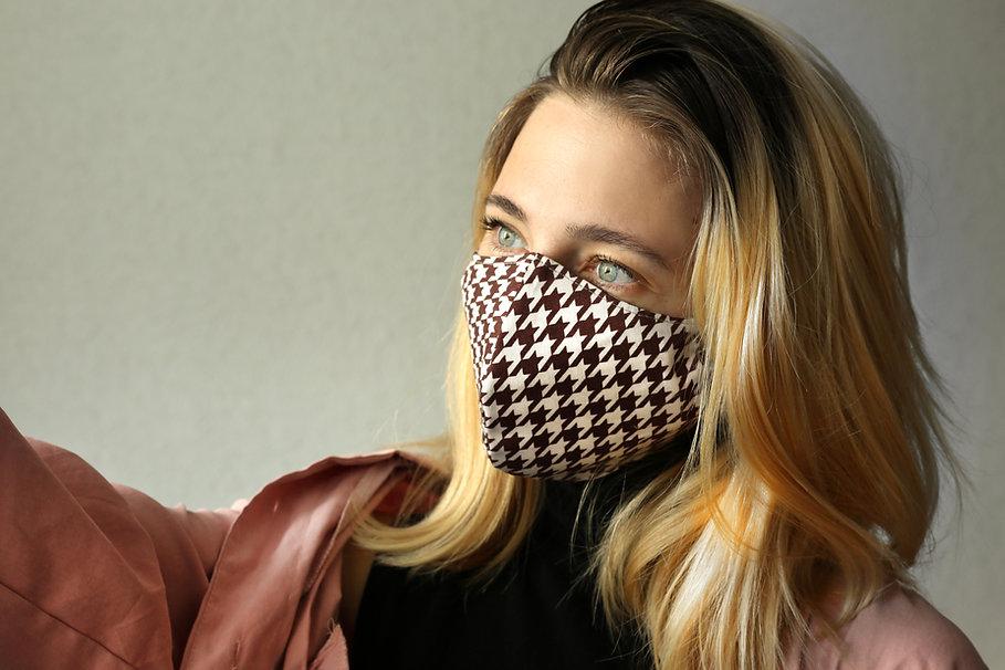 Checkered Mask