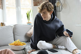 Teenager at Home