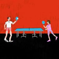 Jogando Ping Pong
