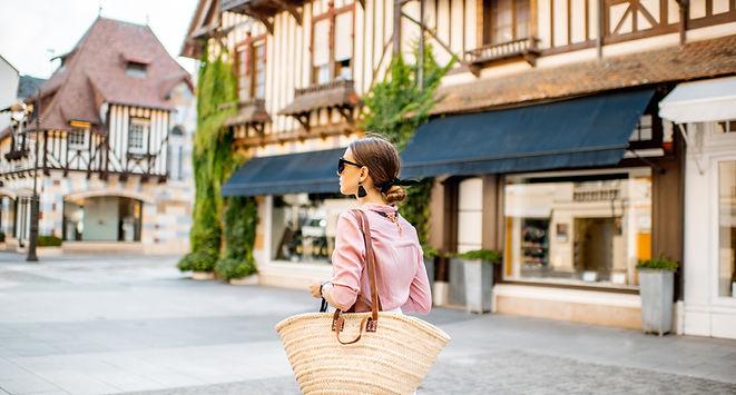 Žena v Deauville