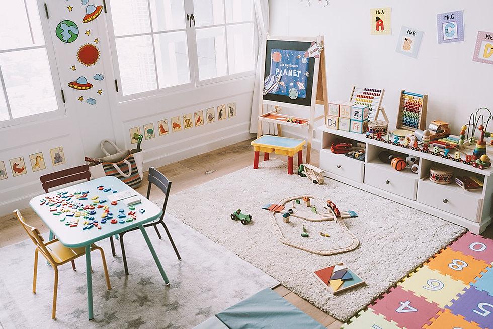 Aula de kindergarten