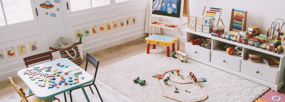Kindergarten-Klassenzimmer