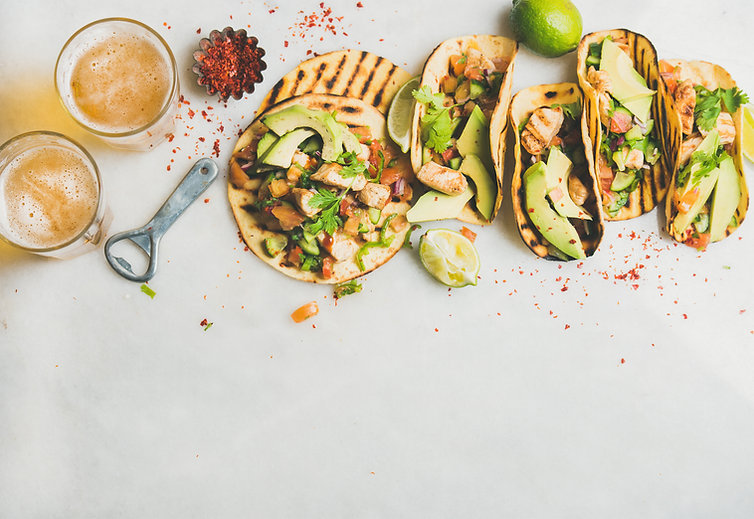 Tortillas and Grilled Chicken