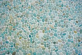 Pedras mosaico