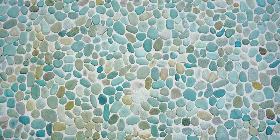 Artist Show, Stone Art from MI Lakes - Kaleva Art Gallery