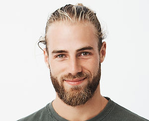 Blond and Bearded