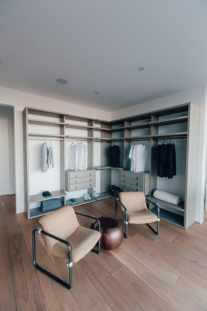 Doorless Wardrobe