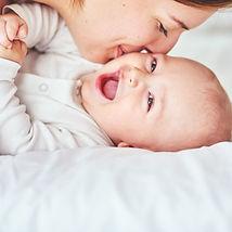 Bebé feliz