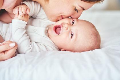 幸せな赤ちゃん