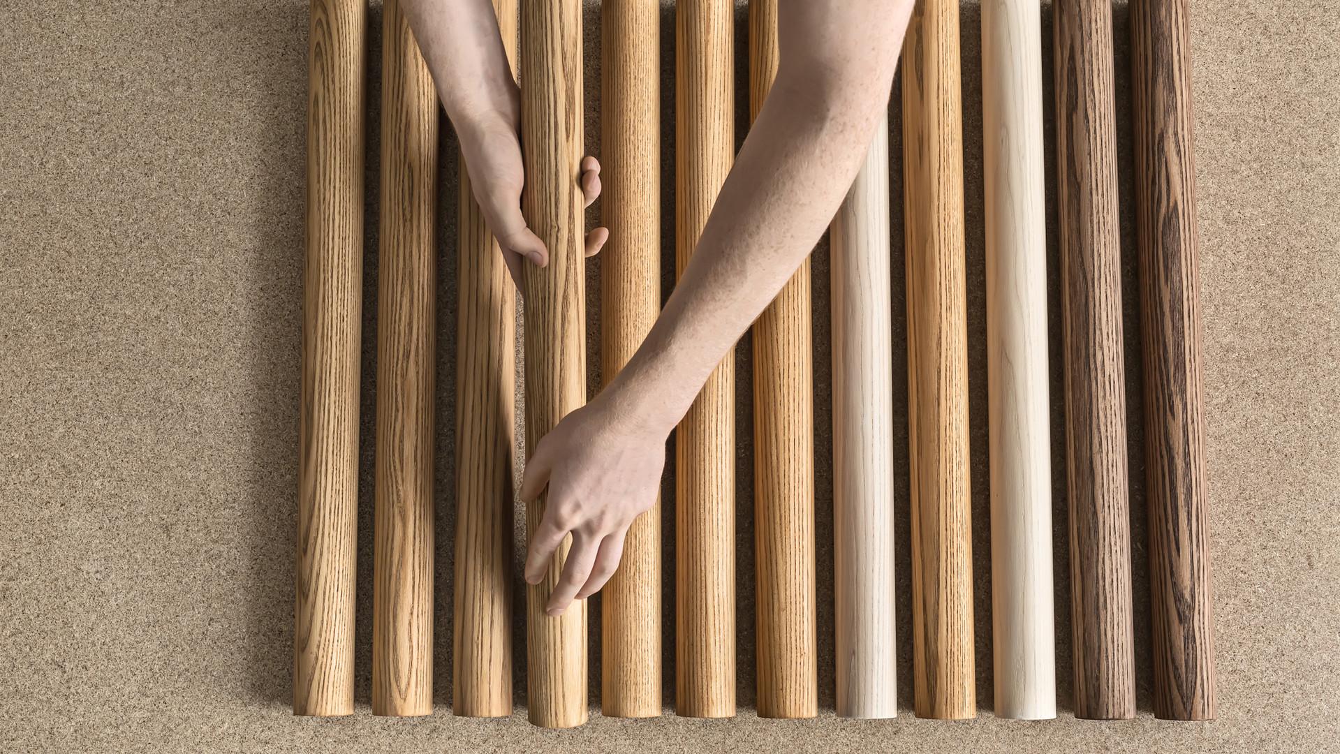 Billettes en bois