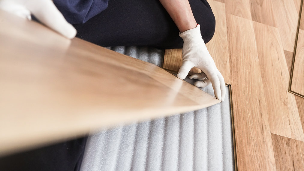 Instalando piso laminado