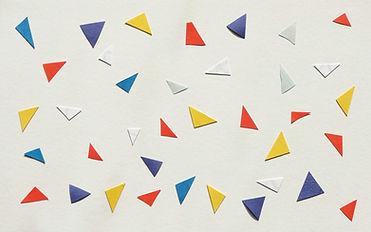 Triangles en papier