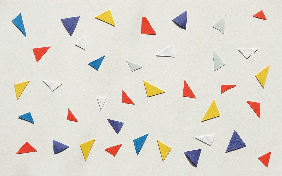紙の三角形