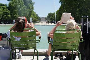 Draußen lesen
