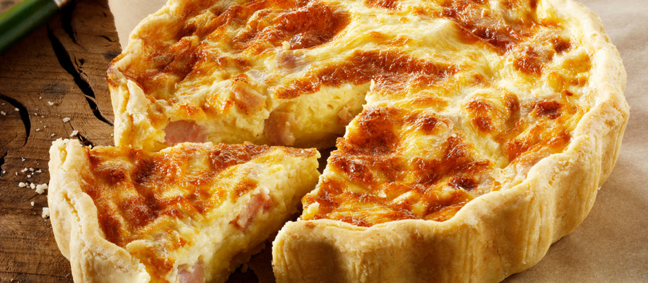Is it safe to eat quiche during pregnancy?