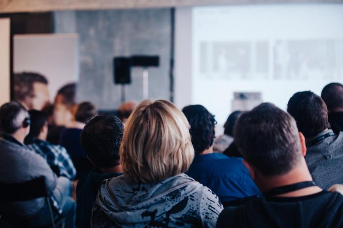 Vortrag, Publikum, Training