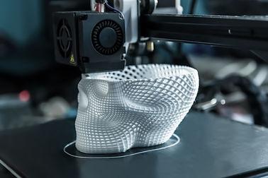 Printing Plastic Skull
