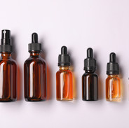 Botellas de aceite esencial