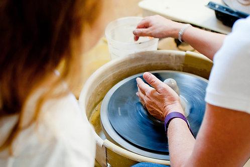 Kids camp- Pottery Wheel June 28-July 1, 2021