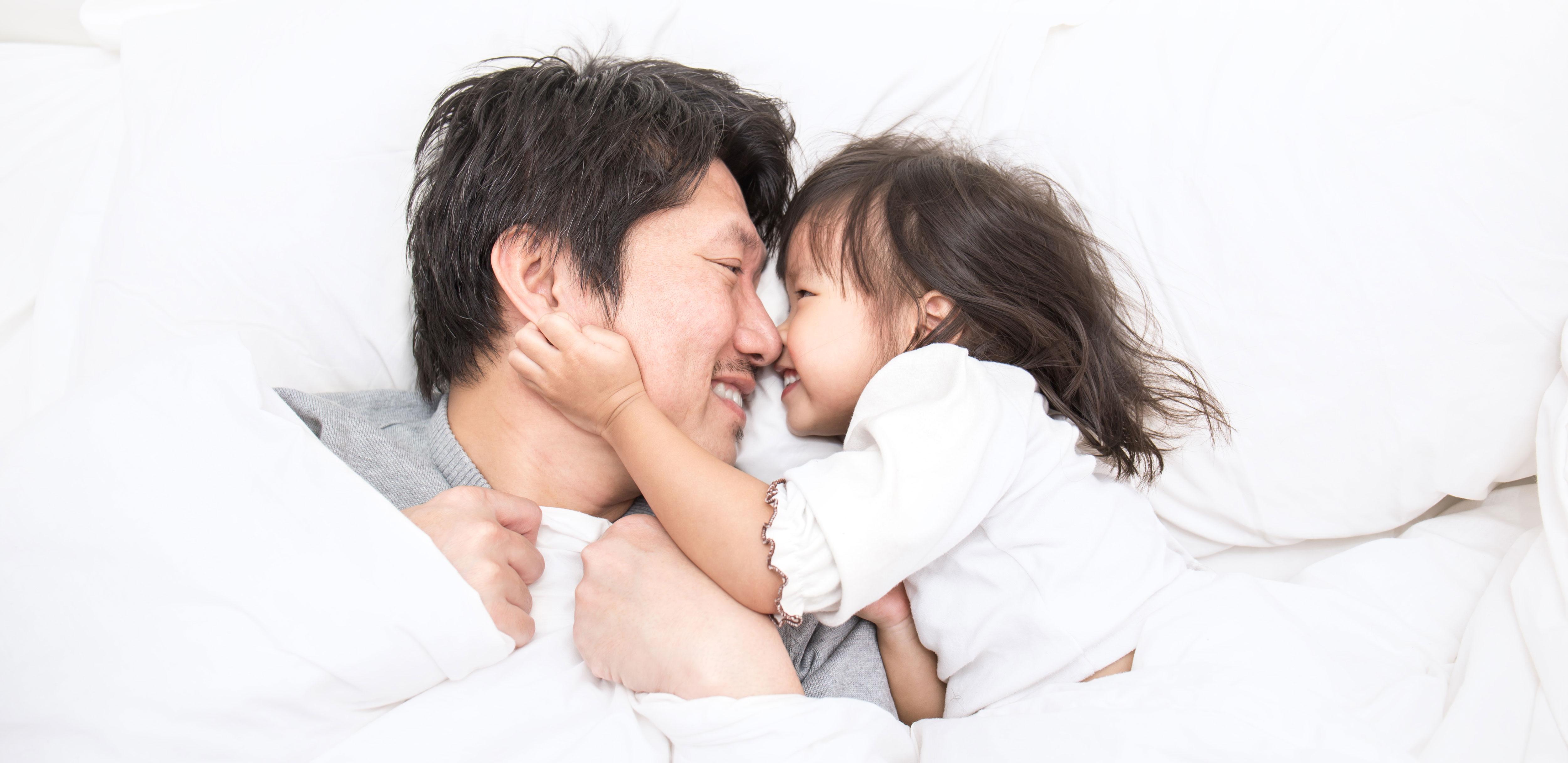 お父さんと娘
