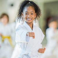 Young Girl Practicing